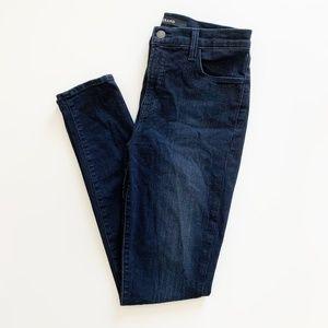 J Brand Maria High Rise Skinny Jean Impression 28